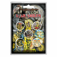 Iron Maiden - Pin Badges - Button Badge Pack