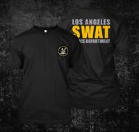 Los Angeles Police Department SWAT LAPD  - Custom Men's T-Shirt Tee