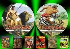 Tarzan Comic Collections On Two PC DVD Rom's (CBR FORMAT)