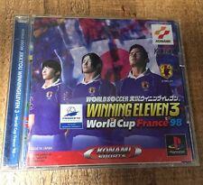 WORLD SOCCER JIKKYOU WINNING ELEVEN 3 World Cup France 98 Japanese *USA Seller*