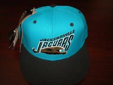 JACKSONVILLE JAGUAR CLASSIC  WOOL NEW ERA FITTED SZ 7 1/2  1990S VINTAGE HAT CAP