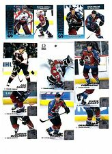 1X COLORADO AVALANCHE 1999-2000 Pacific Omega FULL TEAM SET Lots Available 99-00