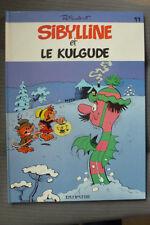 BD sibylline n°11 et le kulgude EO 1985 TBE macherot