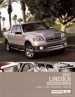 2007 LINCOLN ACCESSORIES BROCHURE -NAVIGATOR-MARK LT-MKZ-TOWN CAR
