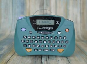 Brother PT-65 P-Touch LCD Portable Thermal Label Maker Printer Green 💎 MINT 💎