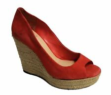 Vince Camuto Women's Totsi Wedge Coral US 6 NOB NWD