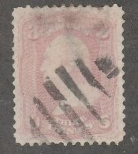 KAPPYSSTAMPS FOR ADVANCED COLLECTORS 2616 SC# 64 PINK SUPERB TRIVIAL PERF FAULT
