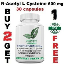 NAC N-Acetyl L -Cysteine 600 mg  Freshest Amino Acid Made USA Free shipping