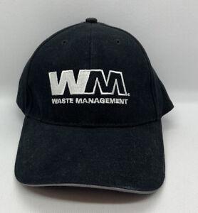 Waste Management Ball Cap Hat Runners Running Reflective Adjustable WM Safety