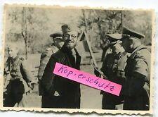 Foto: Deut. General parlando con ausiliarie libero impartiti dalla Serbia? nel 2.wk