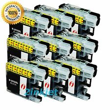9pk LC-203 LC203 XL Black Ink For Brother MFC-J460dw MFC-J480dw MFC-J485dw LC201