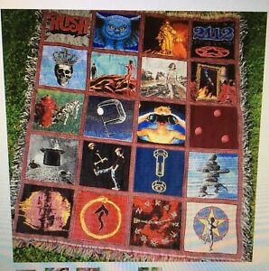 RUSH Band's Record Album Blanket NEW Sealed Neil Peart Geddy Lee Alex Lifeson