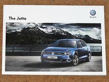 2012 VW JETTA Sales Brochure - Sport, SE, S - Mint Condition