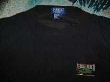 LA MODE Rain Wind Pullover Shirt Jacket PEBBLE BEACH GOLF CLUB Logo Sz L Black
