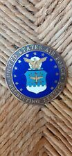 Vintage enamel plaque united states air force