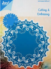 "JOY CRAFTS DIES - 60031001 -  ""ROUND DOILY 1""  FOR CARDS OR SCRAPBOOK PAGES"