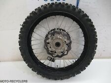 08 KTM 144SX KTM144SX KTM144 rear wheel rim disc    2