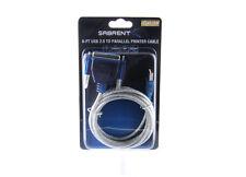 SABRENT USB 2.0 to DB25F Parallel Printer Cable 2M USB-DB25F