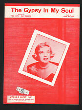 The Gypsy In My Soul - Doris Day Sheet Music