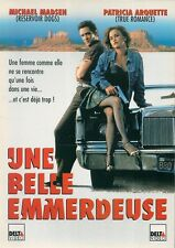 AFFICHE PROMO VIDEO CLUB--UNE BELLE EMMERDEUSE--MADSEN/ARQUETTE