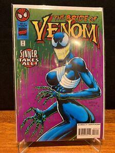 MARVEL VENOM SINNER TAKES ALL #3 - 1st Appearance She Venom - 1995 - VF/NM+