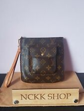 Louis Vuitton Partition Wristlet Pochette  Monogram Canvas, Hand bag accessories