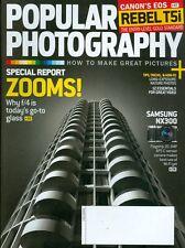 2013 Popular Photography Magazine: Joys of F/4 Zoom/Long-Exposure Nature/Video