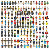 12 New Lego People Lot Minifigure City Town Mixed Set Blocks Figures Series Gif