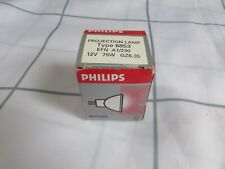 PHILIPS 6853 PROJECTOR LAMP 12 VOLT 75 W
