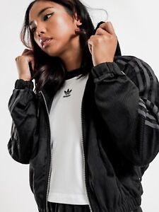Adidas Velvet Corduroy Oversized Jacket Size 10