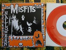 "Misfits- Halloween 7"" on ORANGE vinyl w/insert NM+ RARE! (Danzig, Samhain, Punk)"
