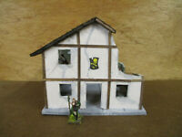 Half Timbered Two Story Square Building (Mordheim Version)