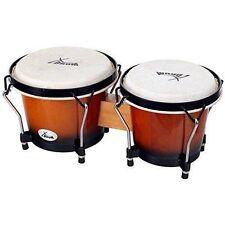 XDrum Bongo Trommeln Percussion Instrument Schlaginstrument Vintage Sunburst