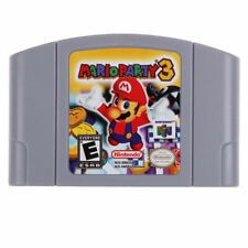Nintendo N64 Game Mario Party 3 Video Game Cartridge Console Card US Version