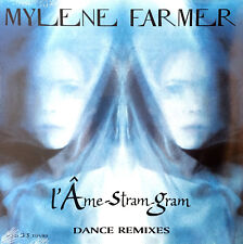 "Mylène Farmer 12"" L'Âme-Stram-Gram (Dance Remixes) - France (M/M)"