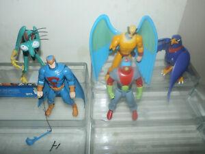 Toynami Space Ghost lot - Moltar & Zorak + Blue Falcon Bird Man & Avenger