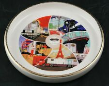Vintage Finney Co New York Central System Collectors Dish Ashtray Road Future O1