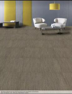 Commercial Grade Shaw Ecoworx Carpet Tile New Open Boxes Tan/Beige/Brown Color