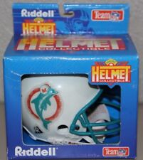 VINTAGE MIAMI DOLPHINS RIDDELL MICRO HELMET NEW IN BOX NIB NFL COLLECTIBLE