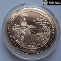 1795  New Orleans - Mississippi River ~ Franklin Solid BRONZE Proof-Like Medal