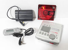 AIWA Walkman MinDisc Player Recorder AM-C80 w/REMOTE & PACK•XLNT COND•WORKS GR8