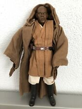 Star Wars Hot Toys Sideshow 1/6 Mace Windu figure.