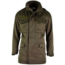 Original Austrian army combat M65 jacket OD military olive drab Parka combat NEW