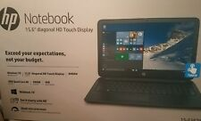 "HP 15.6""  Laptop"" Touchscreen "" Model 15-F387W"
