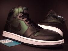 2014 Nike Air Jordan I Retro 1 SB QS BLACK SILVER WHITE GREEN 653532-001 NEW 9.5