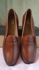 G.H BASS Ladies  Weejuns Penny Loafer - Cognac  - UK8/EU41/US10