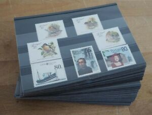 1988 Portugal Madeira; 50 komplette Jahrgänge ohne Block, **/MNH, ME 885,-