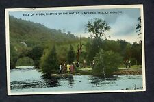 View of People at the Vale of Avoca, County Wicklow, Eire. Posted 1961.