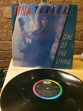 """New listing Tina Turner One Of The Living UK 12"""" vinyl single record (Maxi) 12CL376"""