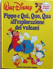 WALT DISNEY GIOCANDO SI IMPARA MONDADORI 1985 PIPPO E QUI,QUO,QUA ESPLORAZIONE